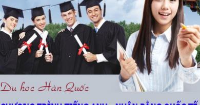 Ưu điểm của việc lựa chọn du học Hàn Quốc bằng tiếng Anh