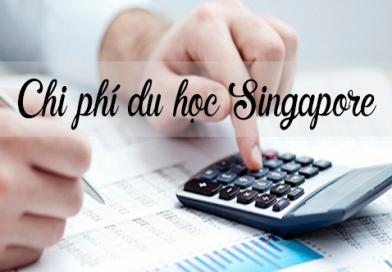 Học phí khi đi du học Singapore là bao nhiêu?